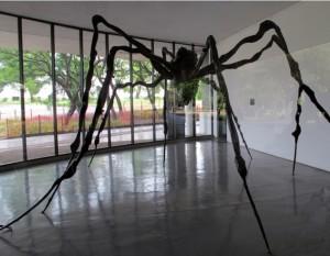 Aranya de Louise Bourgeois (Museu d'Art Modern de Sao Paulo)