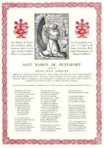 Goig Sant Ramon de Penyafort