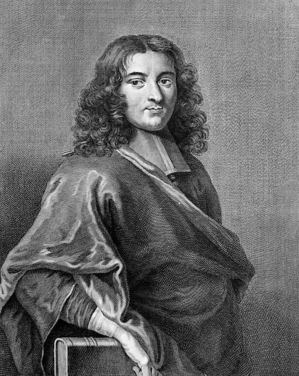 Grabado anónimo representando a Pierre Baylec, 1685.