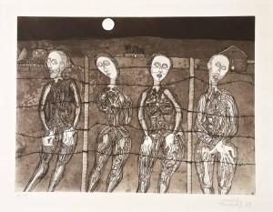 """Armand Cardona Torrandell, """"Sense títol"""", aiguafort, 1978"""