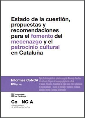 Informe cualitativo y recomendaciones mecenazgo