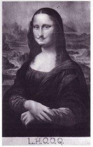 """Marcel Duchamp, """"LHOOQ"""", 1919"""