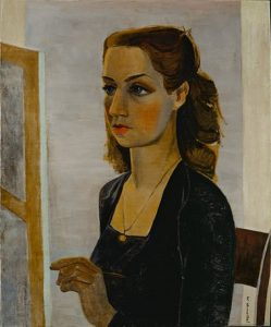 """Pablo Picasso, """"Portrait in Black"""", 1943"""