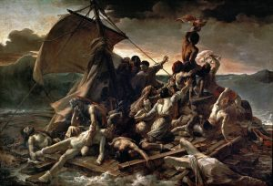 "Théodore Géricault, ""The Raft of the Medusa"", oil on canvas, 1818-1819"