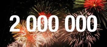 + de 2.000.000 de pàgines vistes a la Web de la Col·lecció!