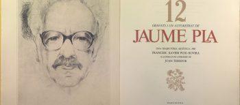 Jaume Pla, gravador i arquitecte de llibres