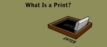 """MoMA: """"What is a print?"""""""