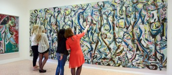 Pollock's Rare Trip to the Venice Biennale