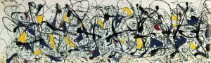 Jackson Pollock: revelations in black