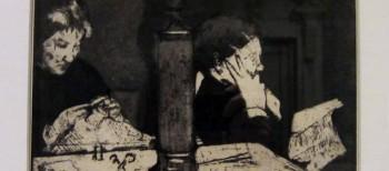 Mary Cassatt Prints and the collector Samuel Putnam Avery