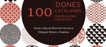 """Presentations of book """"100 dones catalanes, 100 inspiracions creatives"""""""