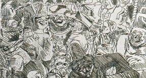 Jean Moulin, résistant et graveur