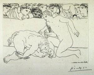 Pablo Picasso, grabador