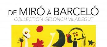 Catálogo exposición «De Miró à Barceló»