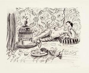 Matisse, la punta seca y el aguafuerte