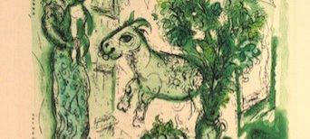 Marc Chagall, ilustrador. Aguafuertes y aguatintas