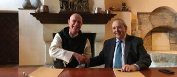 Acuerdo entre la Colección Gelonch Viladegut y el Monasterio de Poblet para la promoción artística del museu del Monasterio de Poblet