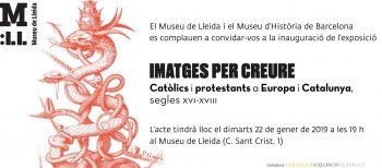 Libro de sala de la exposición «Imatges per creure» en el Museu de Lleida