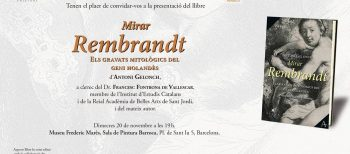 Presentaciones del libro «Mirar Rembrandt»